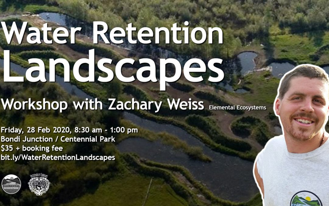 Water Retention Landscapes with Zach Weiss